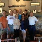 Fun family breakfast at the Cracker Barrel. Love the huge fireplace!