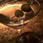 perfect martini, shaken not stirred