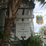 Plaque on Key West's Oldest House