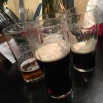 Black sheep and Guinness left - beer taste not right