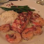 Shrimp Salmon Mojito