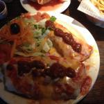 Burrito and Enchilata.