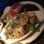 Shrimp Fajitas.