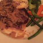 12oz Rib Eye with Chef's mushroom gravy