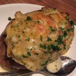 My twice baked blue cheese potato added gravy and chives just the way I like it.