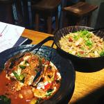 RED WAGYU BEEF CURRY + INDONESIAN FRIED RICE