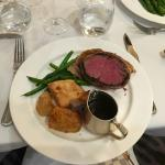 Beef Wellington - melt in the mouth!