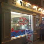 Arnold Fish Bar at night