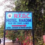 Signboard outside the Hotel