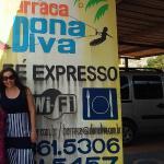 Duas Divas se encontram na Barraca da Dona Diva, a melhor da Prainha em Aquiraz, próximo a Forta