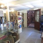 Rooms filled with books