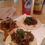 Carne Asada tacos at Choza Taqueria Hells Kitchen