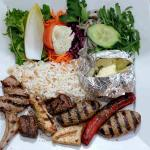 Taken from the website but looks exactly as it is served. The mighty mixed grill