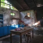 The kitchen at Hacienda San Lucas