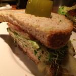 (1/2) Blackened Chicken Sandwich