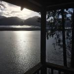 View from the deck of the Colonel Bob cabin