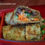 Green Onion Pancake Wrap with Beef