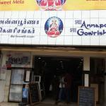 Annapoorna-Gowrishankar near Central bus stand, RS Puram, Avinashi road etc