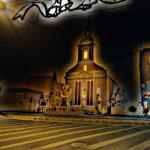 Kościół Matki Boskiej Bolesnej w Rybniku w świątecznej odsłonie.