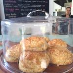 Oh so cheesey,  Cheese Scones