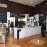 Trendy friendly cafe