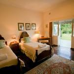 Sinle beds with verandah