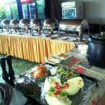 cold starters section#agipmotelmbarara dinning and restaurant