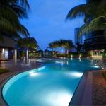 Swimming Pool at Prince Hotel Kuala Lumpur