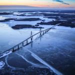 Raippaluodon silta toimii porttina Merenkurkun saaristoon.