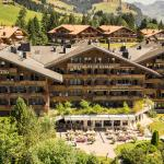 Golfhotel Les Hauts de Gstaad im Sommer