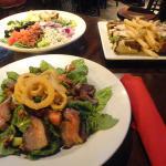 Steak Salad, Cobb Salad and Battleground Club