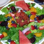 Summer Salad with Ahi Tuna!