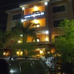 Il hotel da fuori