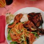 Himalaya Indian Restaurant in Milan (indian cicken tandoori menu)