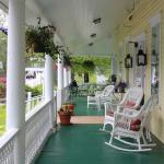 Front rocking porch