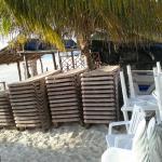 hotel ojo de agua restaurant puerto morelos yucutan mexico