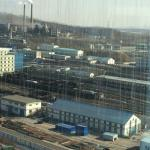 Some of the factory area seen from the observation deck