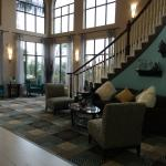 Attractive lobby area. Colors and inviting, seating is comfortable.