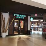 Entrance to Starbucks Isla Verde