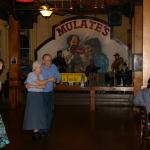 The dancers to Zydico music at Mulates