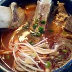 Short rib soup