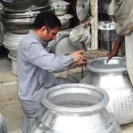 Pots/Utensils at Bazaar.