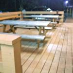 New outside deck