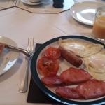 Desayuno impecable!!!