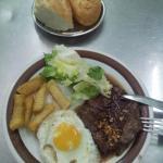 Tender Beef Steak (across the road)