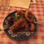 The coach and horses food