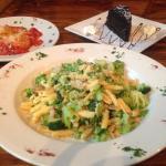 Fresh cavatelli pasta with broccoli