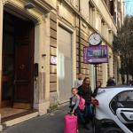 Nice little hotel close to San peters basílica. Not small children friendly.