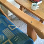 crudely repaired furniture