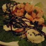Tomato Mozzarella with Shrimp at Main Street Grille North Canton